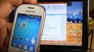S5282 / S5280 (Galaxy Star Duos) recovery mode and Rooting by easiest method with audio and captions