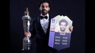 افضل لاعب في الدوري الانجليزي محمد صلاح 98 البطاقة التي حطمت  ميسي !!!  SBC FIFA 18 I