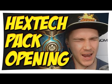 HEXTECH PACK OPENING mit MSI CAPSULES 🎁🎉