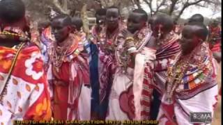 The Boma Show - An insight on The Maasai Graduation -Eunoto