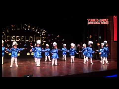 Yılsonu Gösterisi Yunus Emre Anaokulu Sirinler Rondu