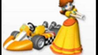 mario kart wii music: daisy circuit