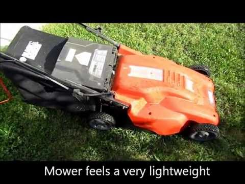 Black and Decker corded lawn mower MM1800
