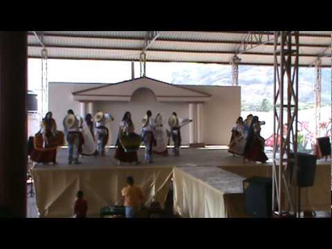 Segundo Lugar de Danza Regional en la XXVI Jornada del COBAM en Aguililla Antunez Paracuaro