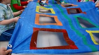Mata edukacyjna dla dzieci DIY zabawy ruchowe oraz integracyjne