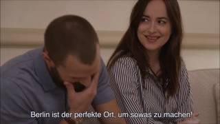 Jamie Dornan, Dakota Johnson - FSD Hamburg Interview