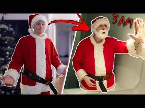DO NOT WEAR SANTA S SUIT AT 3 AM I TURNED INTO SANTA CLAUSE