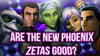 Complete Zeta Phoenix Arena + HAAT P1 Gameplay! Are They Good? | Star Wars: Galaxy of Heroes