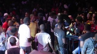 Diamond Platnumz Live Performance   Amahoro Stadium (Rwanda) 1/1/2015