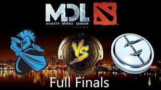 EG vs Nb - Evil Geniuses vs Newbee full Game| Grand Finals - MarsTV Dota 2 League 2016