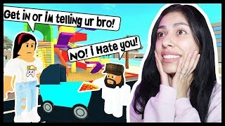 BABYSITTING MY BOYFRIENDS EVIL LITTLE BROTHER! - Roblox - Adopt and Raise a Cute Baby