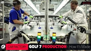 HOW IT'S MADE: Volkswagen VW Golf 7 Car Factory Production Plant [GOMMEBLOG]