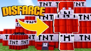 Minecraft: DISFARCE DE TNT - (Esconde-Esconde)