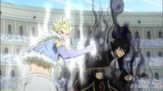 Fairy Tail - Natsu & Gajeel vs Sting & Rogue FULL 2v2 FIGHT - AMV - HD