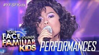 Your Face Sounds Familiar Kids: Lyca Gairanod as Jaya- Wala Na Bang Pag-ibig