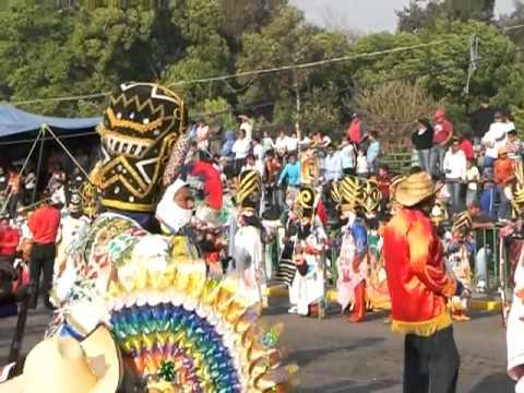 Carnaval De Huejotzingo Puebla Casamiendo Indigena . Zuavos Y Zapadores Lunes 07 03 2011