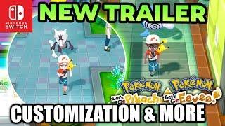 NEW Pokemon Switch Trailer! Gameplay & Information for Pokémon Let