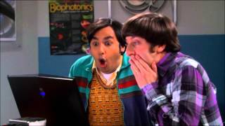 Sheldon Cooper Testing His Worm Hole Generator (Prank At Raj & Howard)