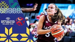 LIVE 🔴- Angola v Latvia - FIBA U17 Women's Basketball World Cup 2018