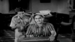 Missamma Movie || ANR Practice Singing Hilarious Comedy Scene || NTR, ANR, Savitri,Jamuna