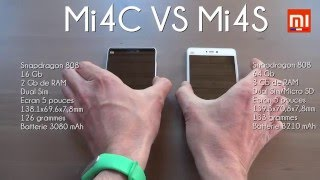 Test : Xiaomi Mi4c Vs Xiaomi Mi4s (MIUI 7 : Battery, Benchmark, Speed...)