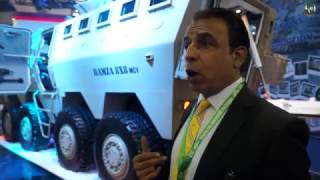 IDEAS 2016 International Defense Exhibition in Karachi Pakistan new products arm