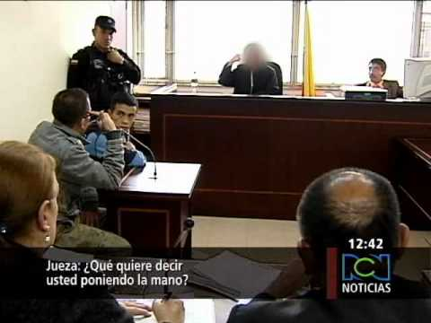 En Colombia Bogotá sicario amenazó a jueza mientras le imponía pena de 40 años de cárcel