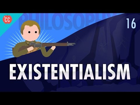 Existentialism Crash Course Philosophy 16