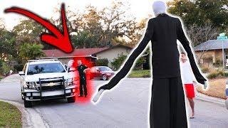 SLENDER MAN DING DONG DITCH PRANK GONE WRONG!! (Ft. JonVlogs)   JOOGSQUAD PPJT