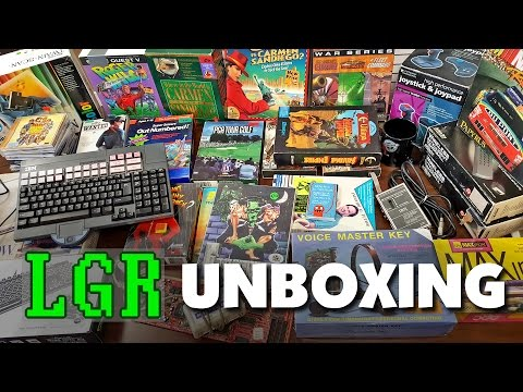 LGR Opening Yet More Stuff You Sent Me