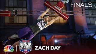 Zach Day at the Philadelphia City Finals - American Ninja Warrior 2018