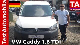 VW Caddy gen.3 - 1.6 TDI iz 2010-e TEST