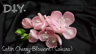 D.I.Y. Satin Cherry-Blossom (Sakura) さくら   MyInDulzens