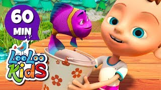 Once I Caught a Fish Alive - Beautiful Songs for Children | LooLoo Kids
