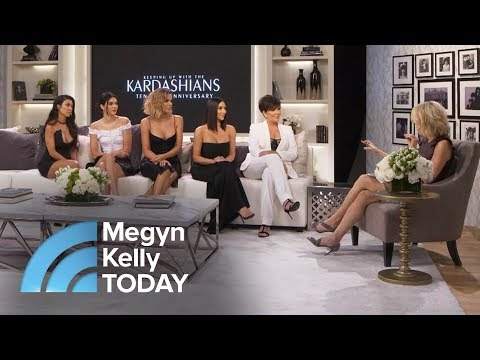 10 Years Of 'Keeping Up With The Kardashians' Kris Jenner Kim K Look Back Megyn Kelly TODAY