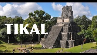 Tikal - Ancient Mayan City of Guatemala - 4K | DEVINSUPERTRAMP