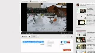Lektion 17: ein Youtube - Video mit einem Iframe einbinden