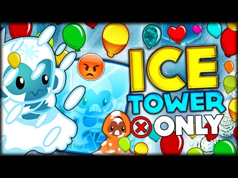 THE MOST IMPOSSIBLE ICE TOWER ONLY CHALLENGE IN BLOONS TD 5 Bloons Tower Defense 5 Challenge