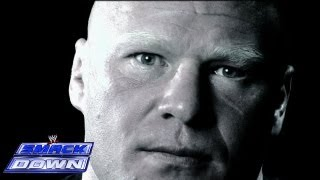 Brock Lesnar talks about the showdown between himself and CM Punk: SmackDown, Aug. 9, 2013