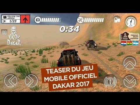 Jeu vidéo mobile Dakar 2017 Teaser officiel