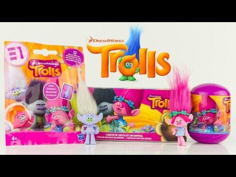 Surprises Les Trolls Poppy Branche Diamant Jouet Toy Review Pochette Oeuf Surprise