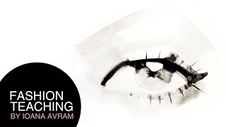 How to paint an eye in watercolors
