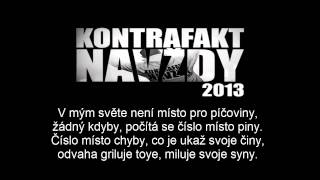 Kontrafakt - V Mojom Svete feat. Separ, Ektor - TEXT [HD]