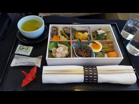 Japan Airlines Business Class Tokyo Haneda to London Heathrow JL 43 Boeing 777 300ER