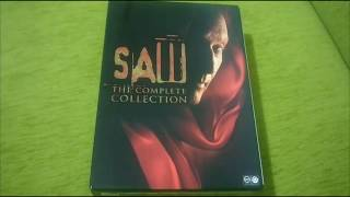 SAW THE COMPLETE COLLECTION DVD SETİ