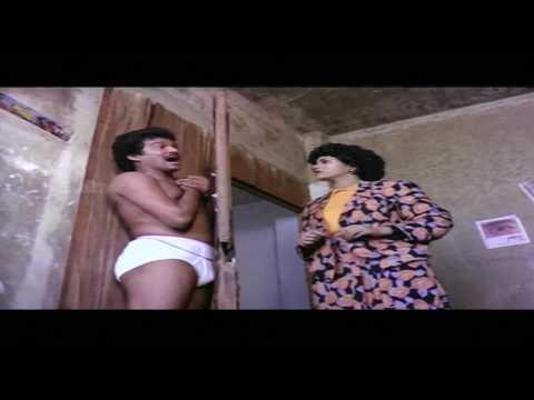 Shameless Telugu Actor Rajendra Prasad in Underwear,and Komanam,half Nude