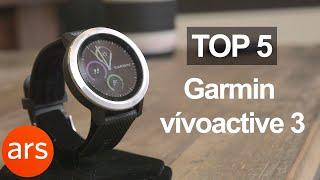 Garmin vívoactive 3: Top 5 features | Ars Technica
