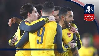Southampton 0-5 Arsenal - Emirates FA Cup 2016/17 (R4) | Official Highlights