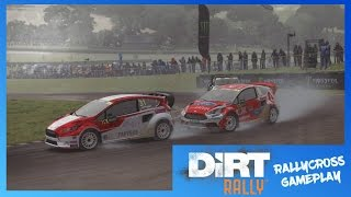 DiRT Rally Xbox One Cinematic Gameplay | Rallycross - Reinis Nitiss Ford Fiesta RX @ Lydden Hill