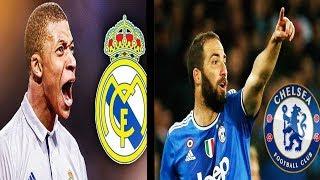 HIGUAIN VIA DALLA JUVENTUS e MBAPPE AL REAL MADRID !!! Top 5 Trasferimenti nel Calcio!